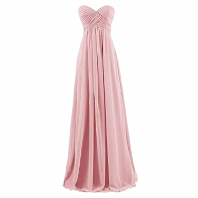 Women Off Shoulder Strapless Elegant Chiffon Tulle Prom Dress Wedding Bridal Maxi Dresses Long Evening Prom