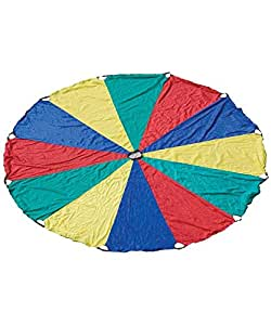 Lowpricenice Parachute with 8 handles Game, 12'
