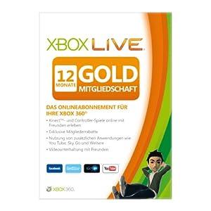 51BIgMZpKGL. SL500 AA300  Microsoft XB360 Live: Gold 12 Monate nur 29,97€