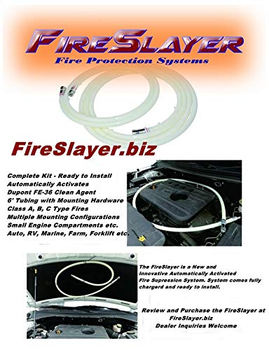 FireSlayer Automatic Fire Suppression Automotive Tube Extinguisher