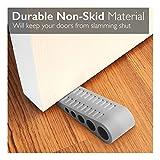 1 Pack LOT Pack Door Stopper Rubber Stop Floor Wedge Holder Doorstop Premium Heavy Duty