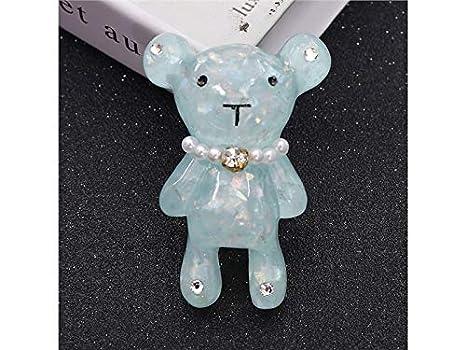 Min ben ornamento creativo decorazione a forma di orso dei cartoni