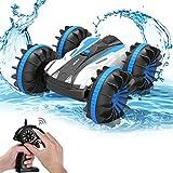 ALLCACA Waterproof Remote Control Car Boat - 2.4Ghz All Terrain RC Cars