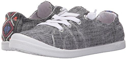 Roxy Women's Rory Slip On Shoe Sneaker, Black, 6.5