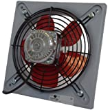 Novovent, BASIC 200 , ventilador helicoidal de pared, motor EC,bajo nivel sonoro