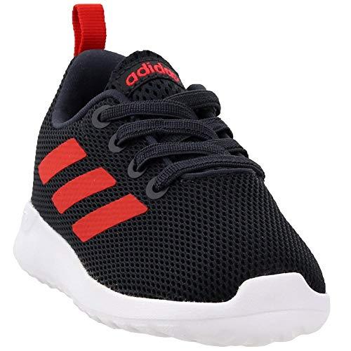 adidas Lite Racer Shoe - Toddler's Running 10K Carbon/Hi Res Red/White