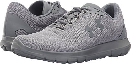 Under Armour Womens UA Remix Running Shoes White/Steel/Steel
