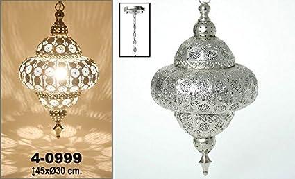 DonRegaloWeb - Lámpara de colgar circular de metal con un ...