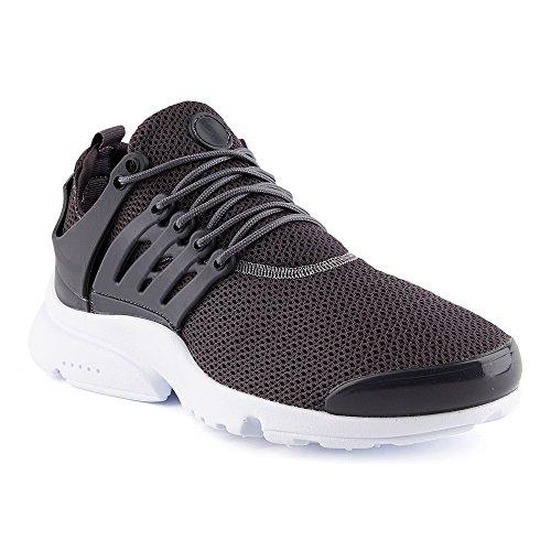 FiveSix Herren Sneaker Sportschuhe Laufschuhe Freizeitschuhe Textilschuhe Camouflage Schnürschuhe Low-Top Schuhe Grau