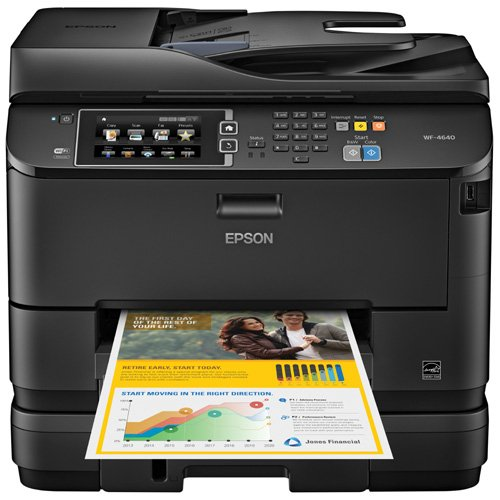 Epson WorkForce Pro WF-4640 Wireless Color All-in-One Ink...