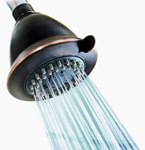 4 Inch High Pressure Multiple Spray Shower