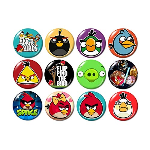 Angry Birds Buttons