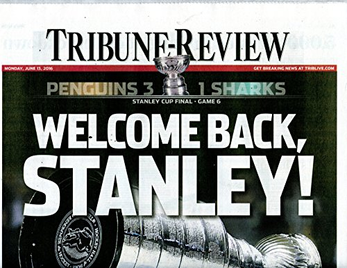 6/13/2016 Tribune Review Newspaper - Pittsburgh Penguins win 2016 Stanley Cup