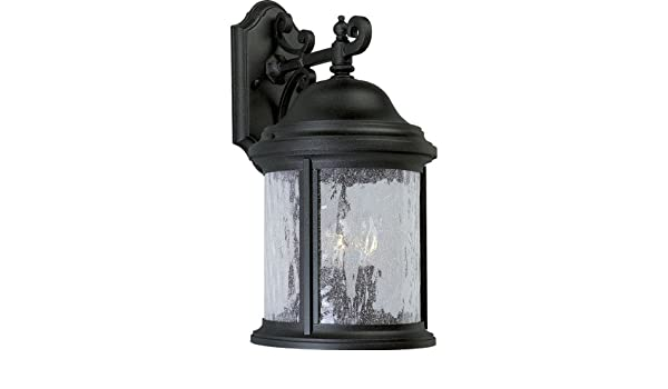 Progress Lighting P5652-20 Traditional Three Light Large Wall Lantern from Ashmore Collection Dark Finish Antique Bronze