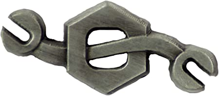 U.S NAVY SEABEE CONSTRUCTION MECHANIC CM LAPEL PIN OR HAT PIN