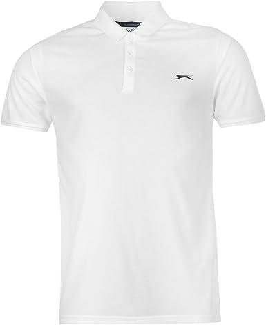 Slazenger Hombre Core B Line Polo Camisa Camiseta Top Ropa Vestir ...