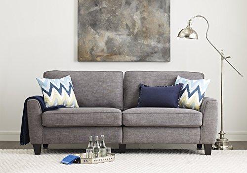Serta RTA Astoria Collection 73″ Sofa in Winter River Gray, CR46233P