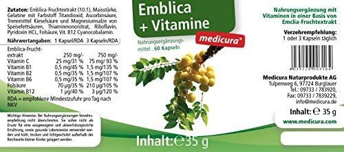 Medicura Emblica Plus - 60 Kapseln - 35 g