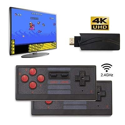 Retro Game Console, 4K HDMI HD Built-in 628 Classic Video Games USB Handheld Retro Gamepad Controller, Home HD Y2 Classic Video TV Game Box Controller: Kitchen & Dining