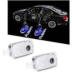 WFB Subaru Car Door Projector Welcome Courtesy Shadow Logo Light -2Pcs