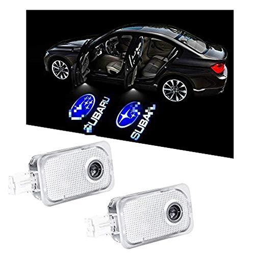 WFB Subaru Car Door Projector Welcome Courtesy Shadow Logo Light 2Pcs