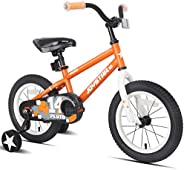 JOYSTAR Pluto Kids Bike with Training Wheels for 12 14 16 18 inch Bike, Kickstand and Training Wheels for 18 i