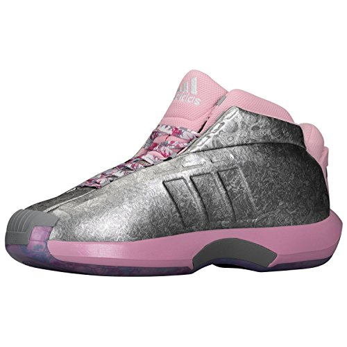 lowest price a31f0 c9556 Adidas Crazy 1 Mens Shoe C76100 Florist John Wall Pink Rosesilver Kobe  Size 10 D - Buy Online in UAE.  Apparel Products in the UAE - See Prices,  ...