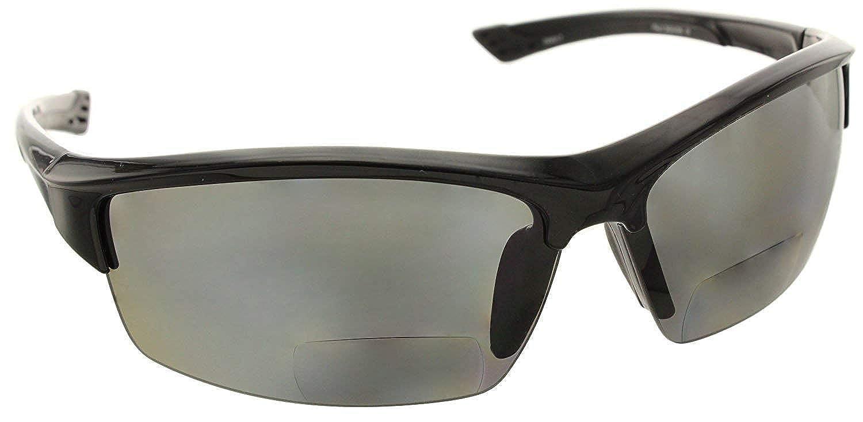 Fiore La Jolla Bifocal Polarized Reading Sunglasses TR90 Readers for Men and Women