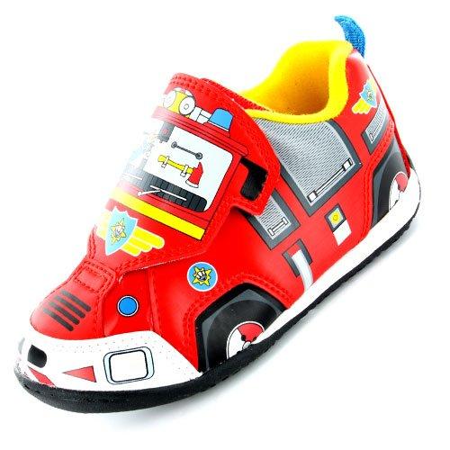Fireman Sam , Jungen Sneaker Rot rot