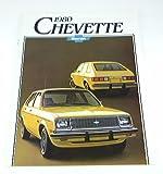1980 80 Chevrolet Chevy CHEVETTE BROCHURE Coupe Sedan