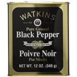 J.R. Watkins Granulated Black Pepper 340g