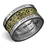 Dr. von Rosenstein's Induction Principle Alchemy Gothic Ring - size 8.5