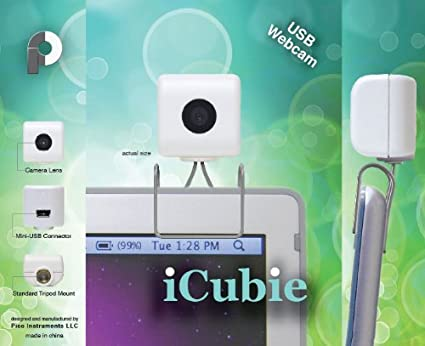 iCubie USB Webcam for Mac, Windows & Linux
