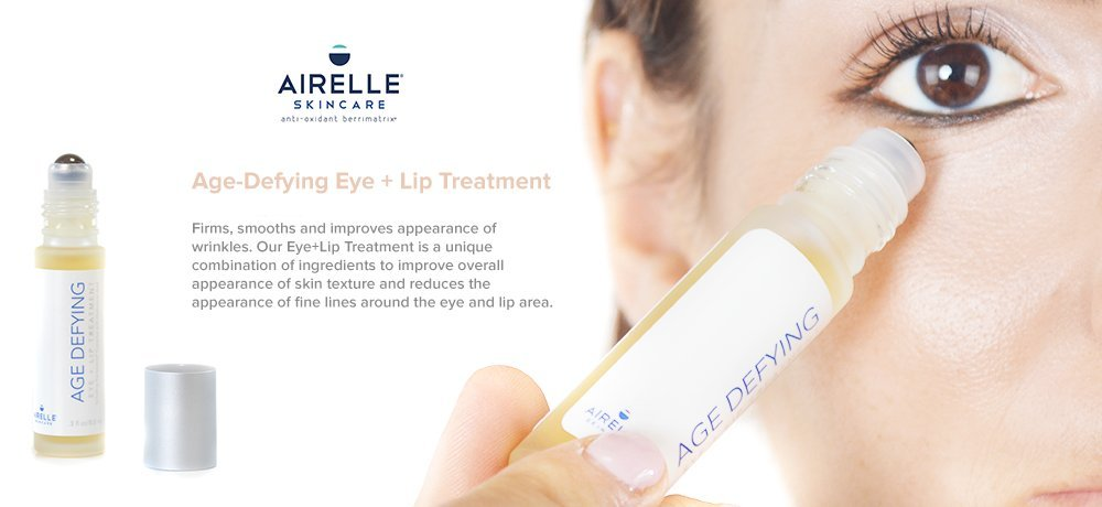 Airelle Skincare Anti-Aging Eye and Lip Serum Treatment with Hyaluronic Acid (Natural).3 fl. oz. by Airelle Skincare (Image #5)