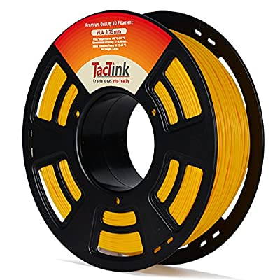 3D PLA Filament - 1KG Spool for 3D Printing, 1.75 mm, Dimensional Accuracy of +/- 0.05mm