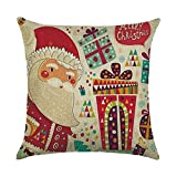 home office layout JINLE Christmas Pillow Covers Pillowcase Suitable for Home Living Room Bedroom Decoration Car Interior Design Office Layout,18x18inches,45cm45cm Pack of 1