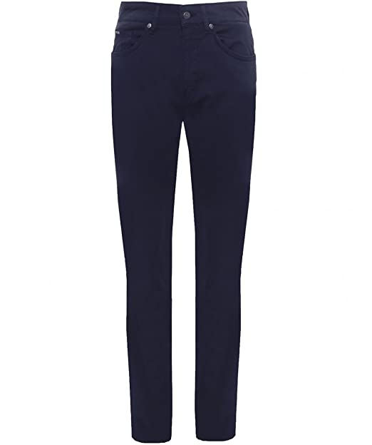Hugo Boss Delware Bc-c Slim Fit in Black Stretch Denim Jeans
