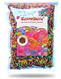#10: MarvelBeads Water Beads Rainbow Mix, 8 ounces (half pound), for Orbeez Spa Refill, Sensory Toys and Décor
