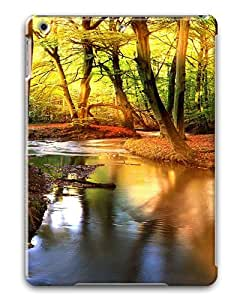 iPad Air Cases & Covers -Creek In The Forest Custom PC Hard Case Cover for iPad Air