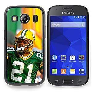 """Qstar Arte & diseño plástico duro Fundas Cover Cubre Hard Case Cover para Samsung Galaxy Ace Style LTE/ G357 (21 Jugador de la NFL"""")"""