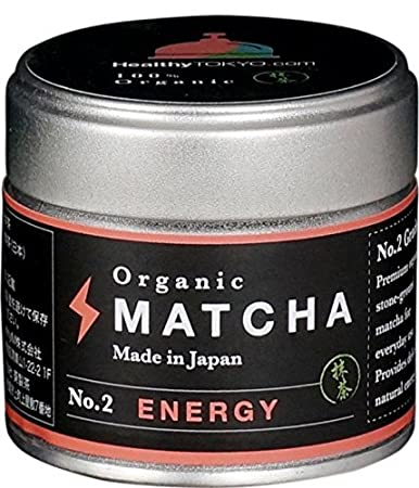 Amazon.com : Organic green tea HealthyTokyo Organic Matcha No.2 ...