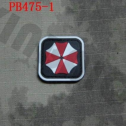 NEW Resident Evil Umbrella Corporation Logo 3D PVC Patch