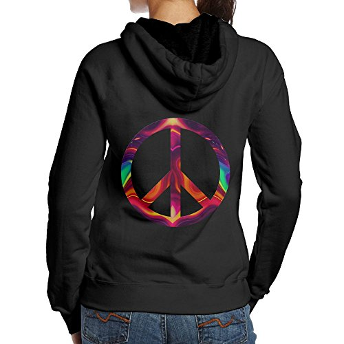 Peace Sign Kids Sweatshirt - 1