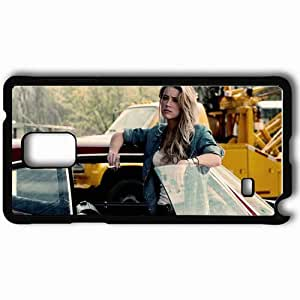 Personalized Samsung Note 4 Cell phone Case/Cover Skin Amber heard car cigarette Actress Black