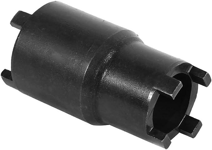 Keenso Motorrad Kupplung Demontagewerkzeug 20mm 24mm 2 In 1 Kontermutter Kupplungs Schlüssel 4 Zapfen Nutmutternschlüssel Auto