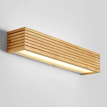 Perfekt FUFU European Style LED Holz Kunst Wandlampe Nordic Treppe Gang Badezimmer  Spiegel Vorne Schlafzimmer Bedside