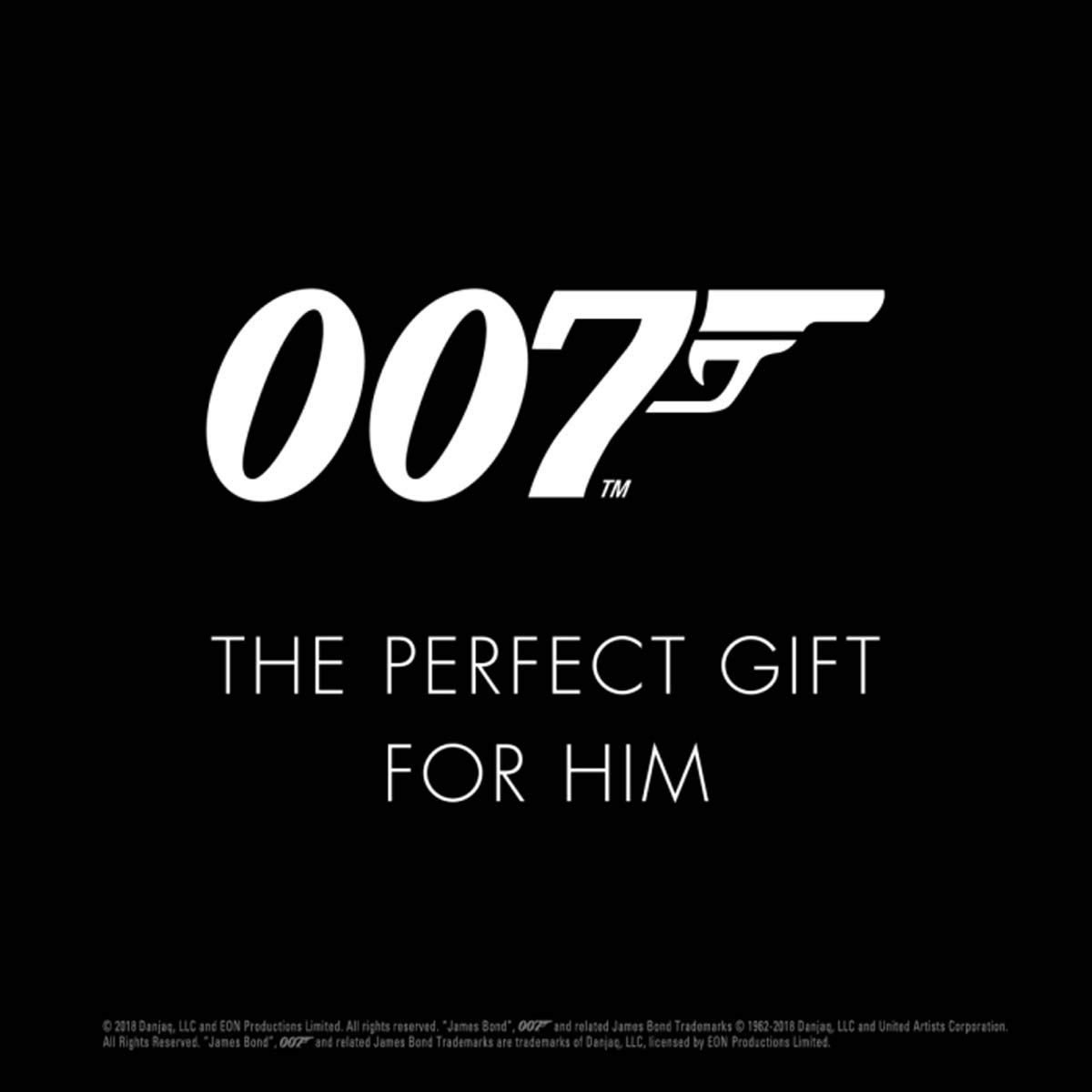 James Bond 007 Deodorant Anti-Perspirant Body Spray for Men, 150 ml