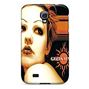 High Quality Hard Cell-phone Case For Samsung Galaxy S4 (uFf5768vwAc) Unique Design Vivid Godsmack Image