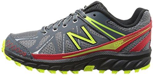888546333864 - New Balance KJ610 Youth Lace Up Trail Running Shoe (Little Kid/Big Kid), Grey/Red, 2.5 M US Little Kid carousel main 4