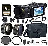 Canon VIXIA HF G40 Full HD 1080p Camcorder w/ EOS Shoulder Bag for DSLR Cameras & 128 GB SD Card Bundle